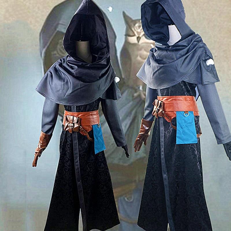 Identity V Eli Clark Cosplay Costume Mens Full Set Outfit Diviner Halloween Game