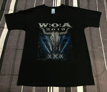 Wacken t-shirt à ciel ouvert août 2019 Sabaton Powerwolf Anthrax(China)