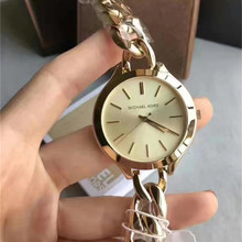 michael korsing Quartz Wrist Dress Women Watches Silver Brac