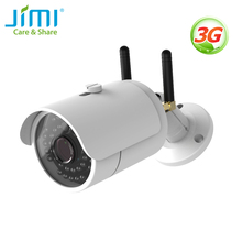 جيمي JH012 3G واي فاي كاميرا في الهواء الطلق IP65 مانعة لتسرب الماء للرؤية الليلية مع الأشعة تحت الحمراء كاميرا IP لاسلكية نظام المراقبة لمكتب المنزل