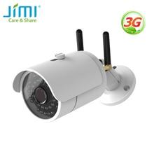 Jimi JH012 3G Wifi Outdoor Camera IP65 Weerbestendig Nachtzicht Met Ir Draadloze Ip Camera Surveillance Systeem Voor Thuis kantoor