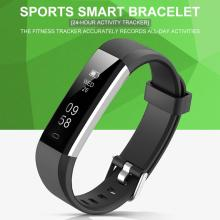 Bluetooth Smart Bracelet Sleep Monitoring Black Technology Waterproof Sports Step Band Watch