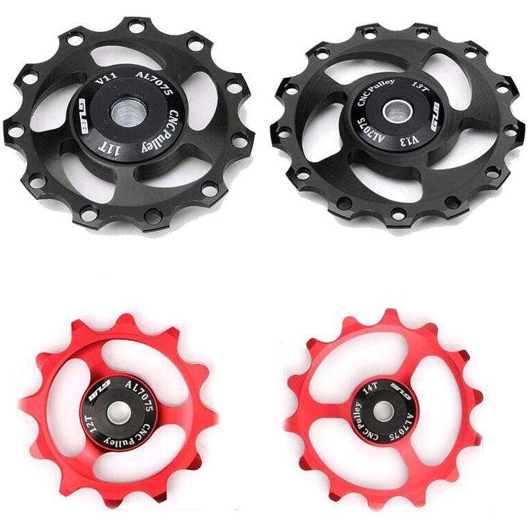13T Ceramic Bearing 7//8//9//10//11 Speed Rear Derailleur Pulley Jockey Wheels