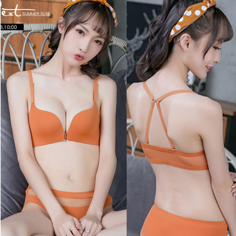 Bra for Women's Underwear  Push-Up Thin Breathable Wireless Lace Sexy  Lingerie
