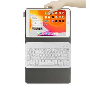 For IPad 10.2 Inch 2019 WakeSleep Slim Case Smart Stand Cover With Pen Set High quality and long life keyboard