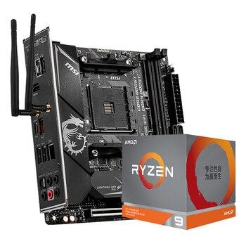 MSI B550I GAMING EDGE wifi ITX motherboard+R5 5600X/R7 5800X/R9 5900X CPU motherboard+CPU set