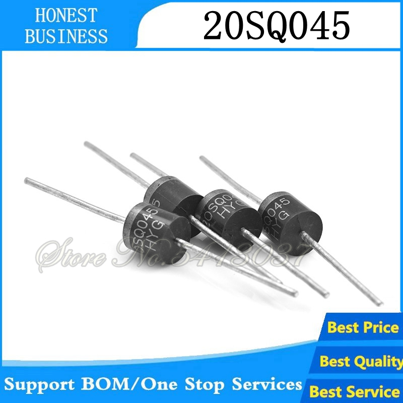 10 Pcs 20SQ045 20A 45V Schottky Rectifiers Diode New
