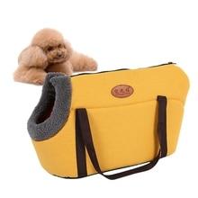 Dog Carriers Pet-Handbag Dog-Bag Puppy-Carry-Bag Eco-Friendly Cat Comfortable Washable