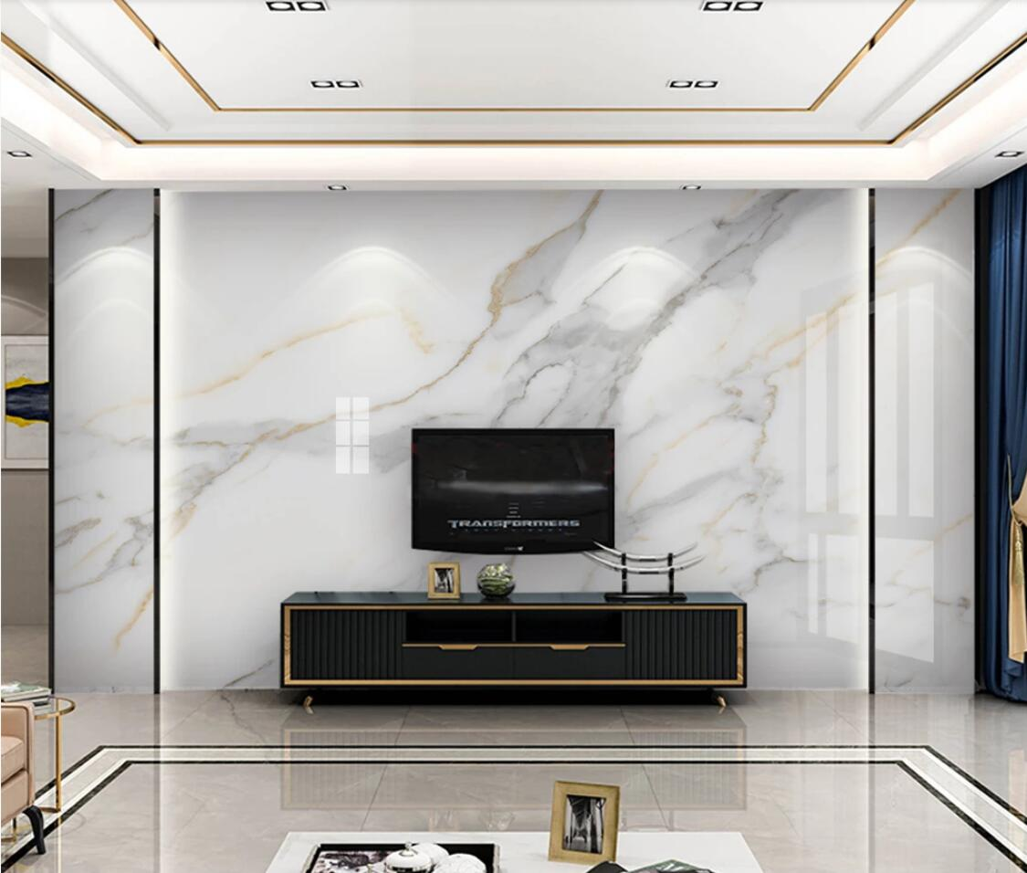Jazz White Marble Hd Wallpaper 3d Wall Mural For Tv Background Wall Decor Luxury Murals Photo Printed Wall Paper For Bedroom Wallpapers Aliexpress