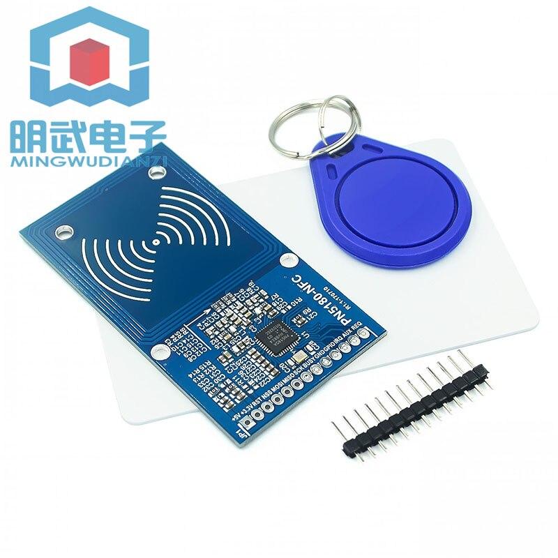 Escritor de alta frequência do leitor do cartão icode2 do rfid do sensor iso15693 de pn5180 nfc rfi Circuitos integrados    -