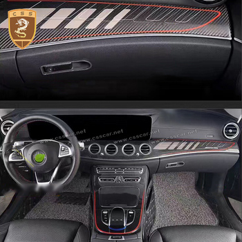 Real Carbon Fiber Centre Dashboard Console Cover for Benz CLA GLA Class W117 X156&AMG auto car accessories