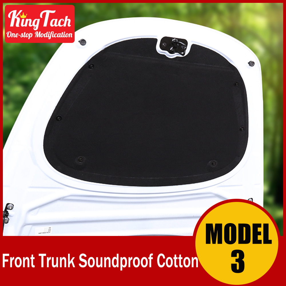 Front Trunk /Hood Cover Soundproof Cotton For Tesla Model 3 Front Box Sound absorbing fiber Soundproof cotton