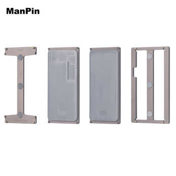 OCA Laminating Mold 4in1 Set Curved Screen Alignment No Fold Flex For Samsung S10 S10Plus S9Plus S9 S8 Moulds Phone Repair Tools