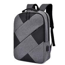 Multi-functional Mens Laptop Backpacks Large Capacity USB School Bags for Teenagers Men Casual Travel