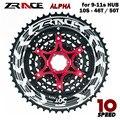 Zracing Alpha 10s 11s светильник для велосипеда 46T 50T 52T MTB дорожный велосипед свободного хода, CNC 10 11 Маховик скорости для SLX
