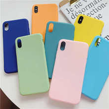 Candy Color Soft TPU Phone Case For OPPO Reno R15 Pro R17 K1 R15X K3 F5 A73 A83 A1 A3 A5 A3S A7 F9 A7X A77 A9 F11 A37 A57 A39 A59 R9 R9S R11 R11S Plus Silicon Cover