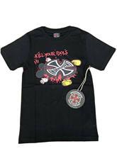 Camiseta de empresa de camioneta independiente, camiseta de Skateboard BNWT, talla negra, XS, Kill Your Idols