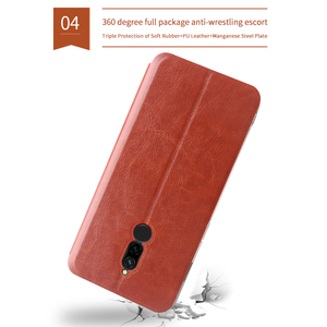 Image 2 - MOFi For Xiaomi Redmi 8 Cases Book Flip Style High Quality Mobile Phone Cases For Redmi 8A Note 8 Pro Stand Cover