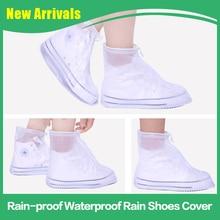 Boots-Cover Men/women Waterproof Rain Wear-Resistant Non-Slip Adult Children Portable