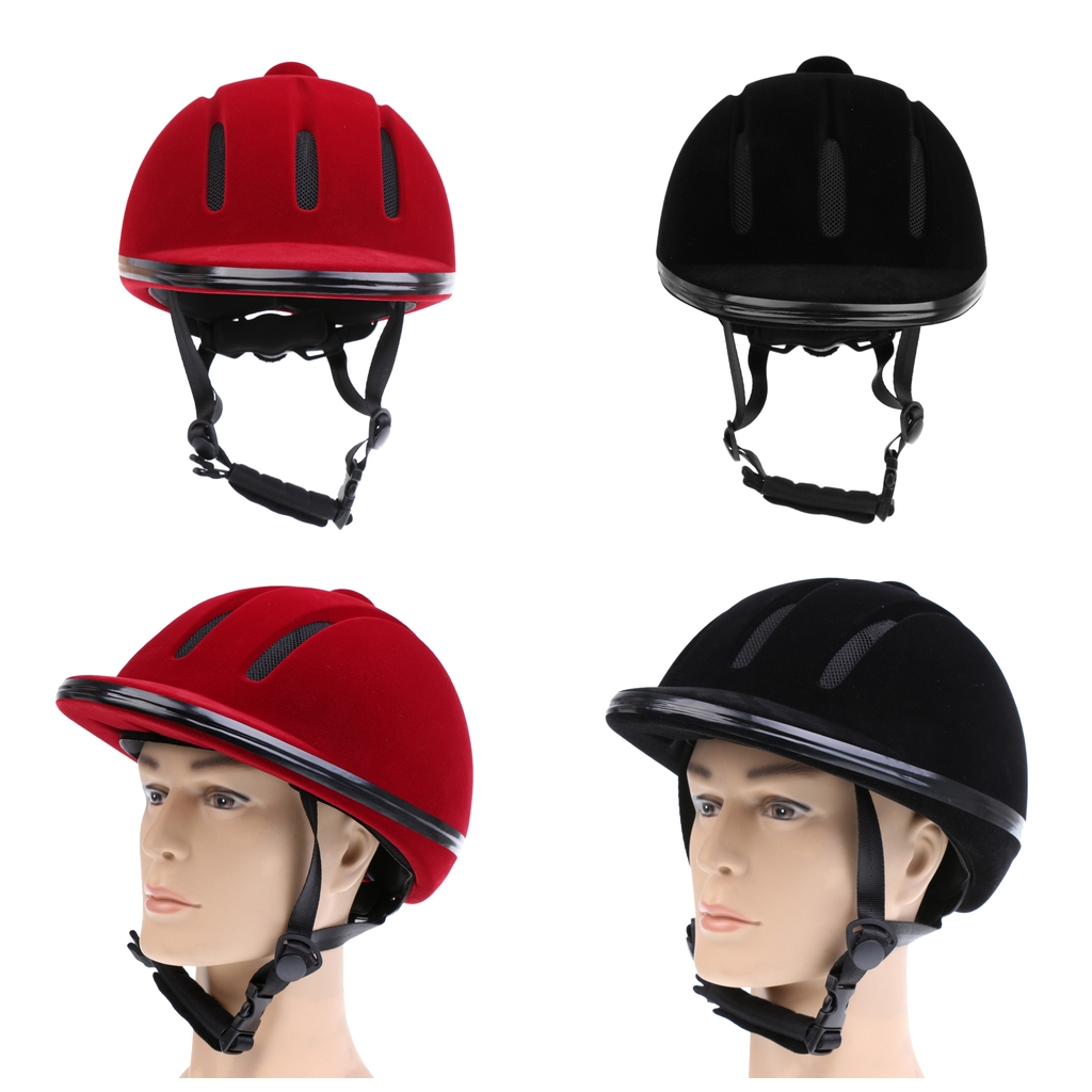 Riding Hats & Protective Gear Horse Riding Adjustable Helmet Equipment  Sports Safety Hat for Mens Womens synntel.com.au