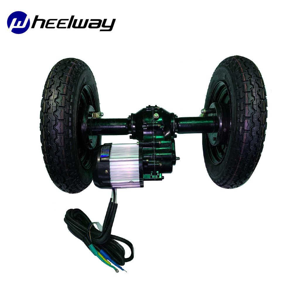 500W 800W 1200W moteur essieu arrière vélo électrique tricycle accessoires moteur haute puissance moteur brushless