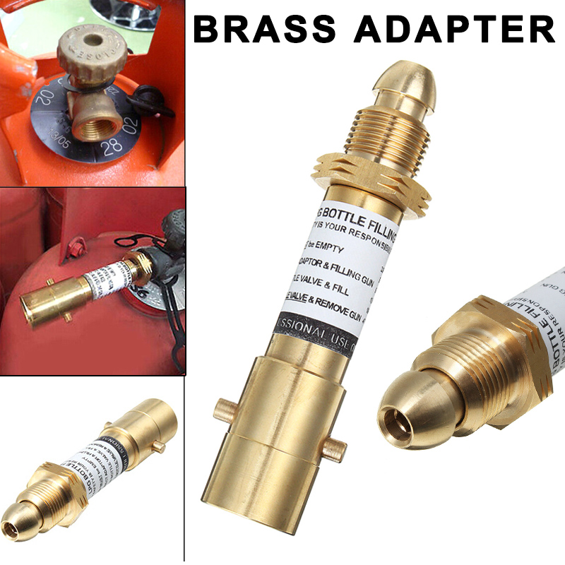 Mini Bottle Refill Equipment Gas Stoves Propane Adapter for Picnic Camping Outdoor LB88