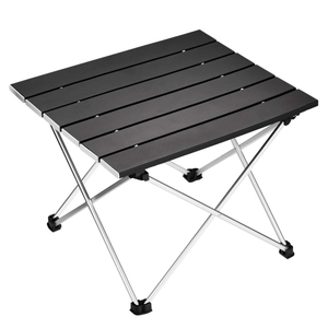 Image 1 - Portable Folding Camping Table Aluminum Desk Table Top Suitable for Outdoor Picnic Barbecue Cooking Holiday Beach Hiking Traveli