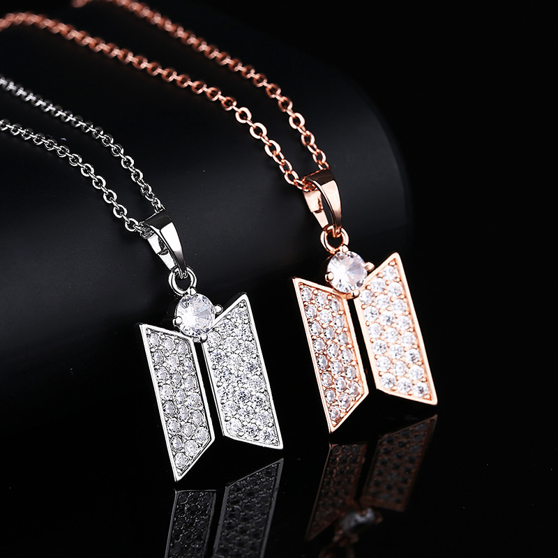 BTS Jewelry Logo Necklace 1