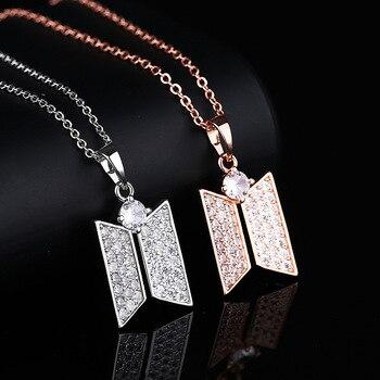 BTS Jewelry Logo Necklace