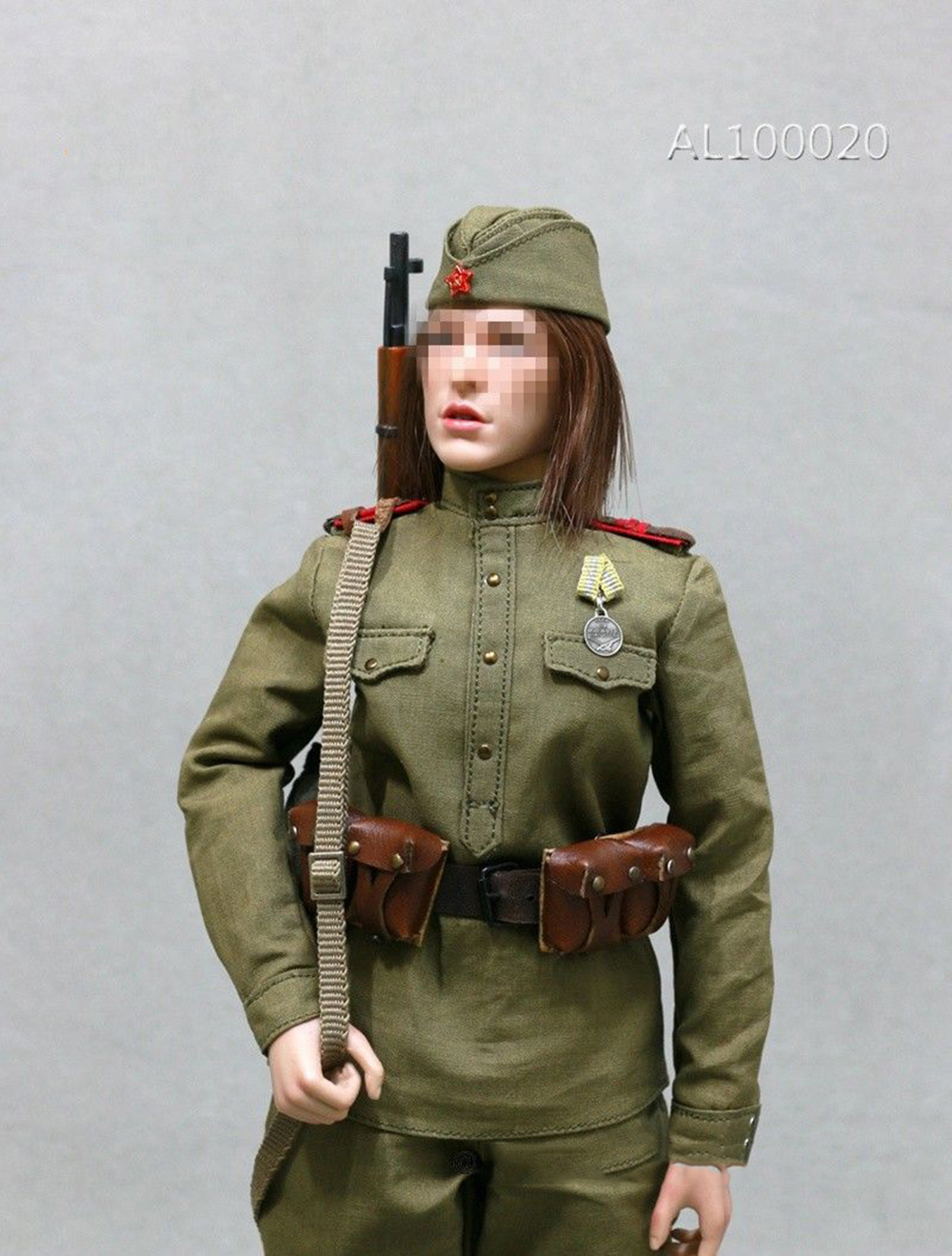 1:6th Figure Accessory Toy Long tube boots F The Soviets Female Soldier Sniper