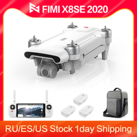 FIMI-Dron X8SE 2020 8KM FPV 3 ejes cardán 4K Cámara RC HDR vídeo GPS 35 minutos vuelo Quadcopter carga batería RTF