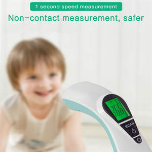 Digital-Thermometer Lcd-Backlight Portable AG3 Forehead Temporal Non-Contac Baby Adult