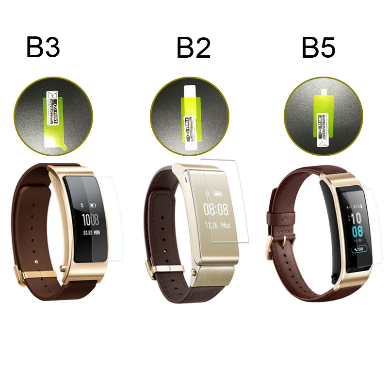 10 Pcs Screen Film For Huawei Band 3 Pro Honor Band 4 5 Protector Pantalla For Huawei B2 B3 B5 Screen Films Protective Films