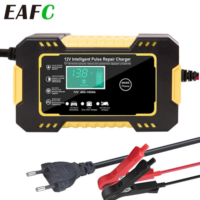 LCD de réparation dimpulsion décran tactile du chargeur 12V 6A de batterie de voiture pour la Moto automatique