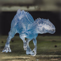 Transparent Bereserker Rex Indominus Dinosaur Model Figure Collector Decor Indoraptor Gift 1:35 Scale Jurassic World