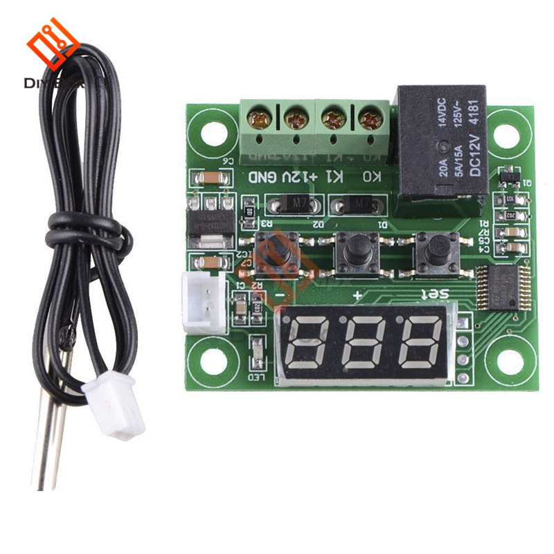 W1401//W1209-9-110°C DC 12V Digital Red LED Thermostat Temperature Controller