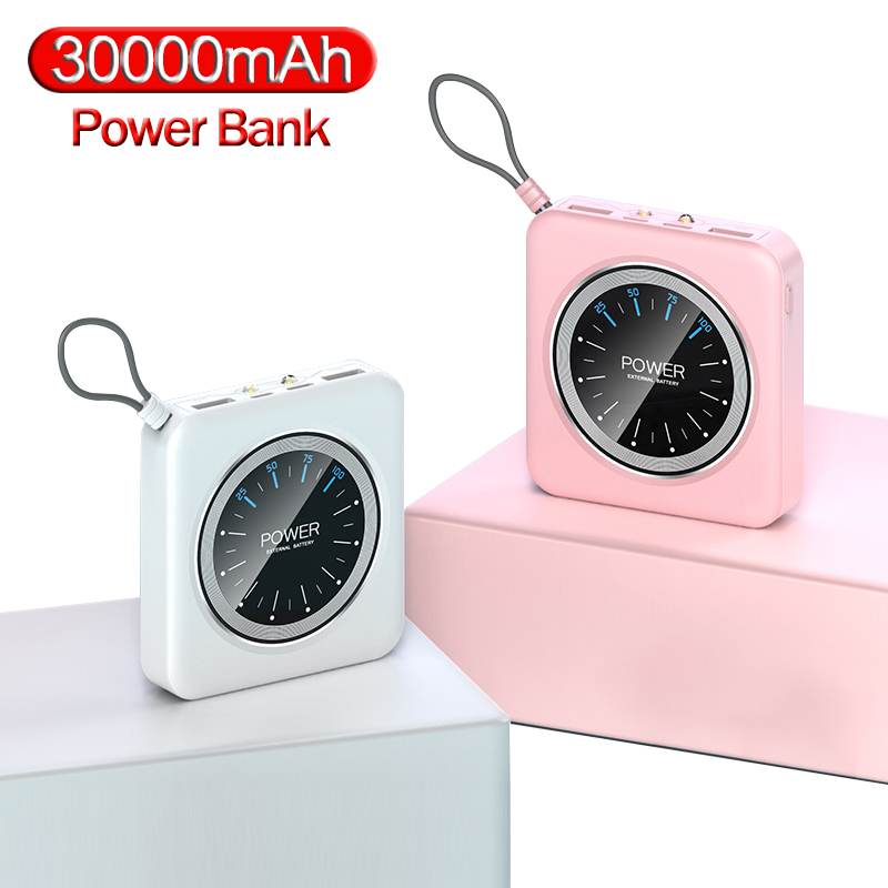 Mini Power Bank <font><b>12000mAh</b></font> Portable Charging PowerBank 2 USB PowerBank External Battery Charger For smart phone image