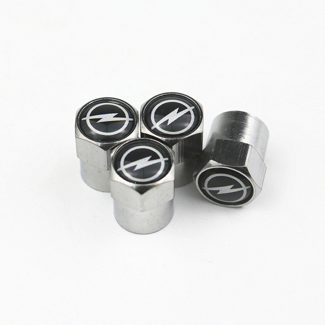 New Car Wheel Tires Valves caps For Volkswagen VW GOLF POLO TIGUAN TOYOTA Hyundai Chevrolet Saab FORD BMW AUDI STICKERS 3
