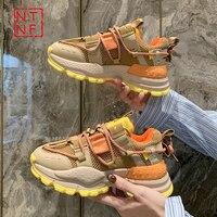 2021 Designer Turnschuhe Frauen Plattform Schuhe Mode Zapatillas Mujer Korb Femme Damen Trainer Casual Chunky Turnschuhe Frau