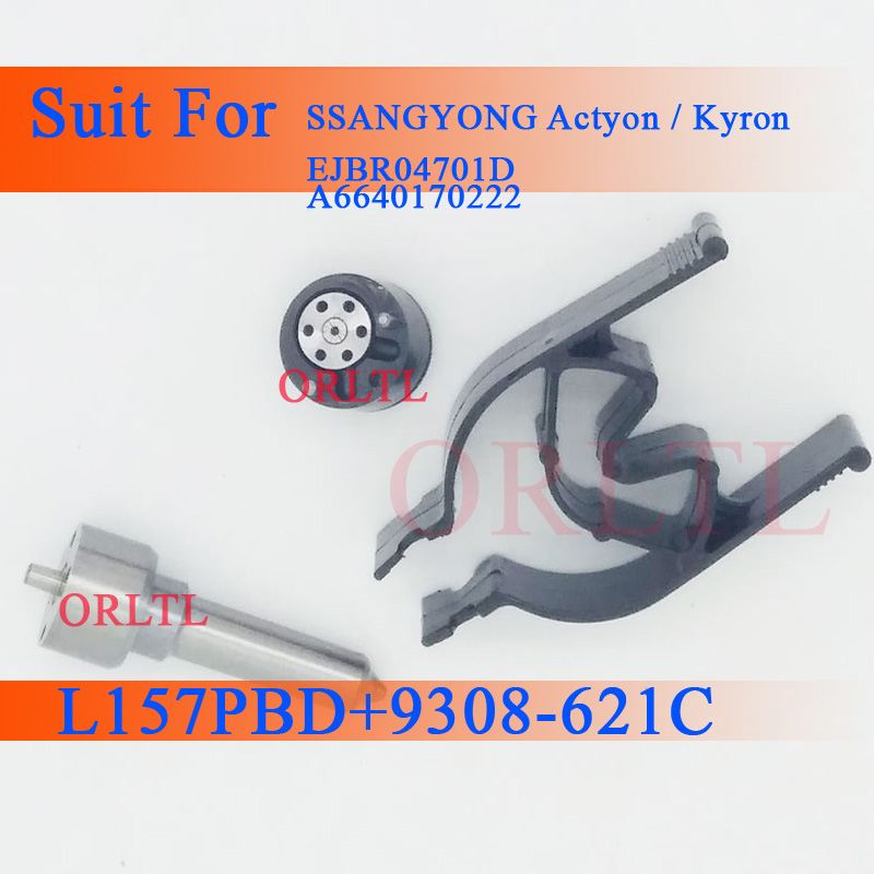 7135-650 New Injector Repair kits L157PBD Spare Parts L 157 PBD Valve Set 9308-621C And 9308621C 9308 621C For EJBR03401D