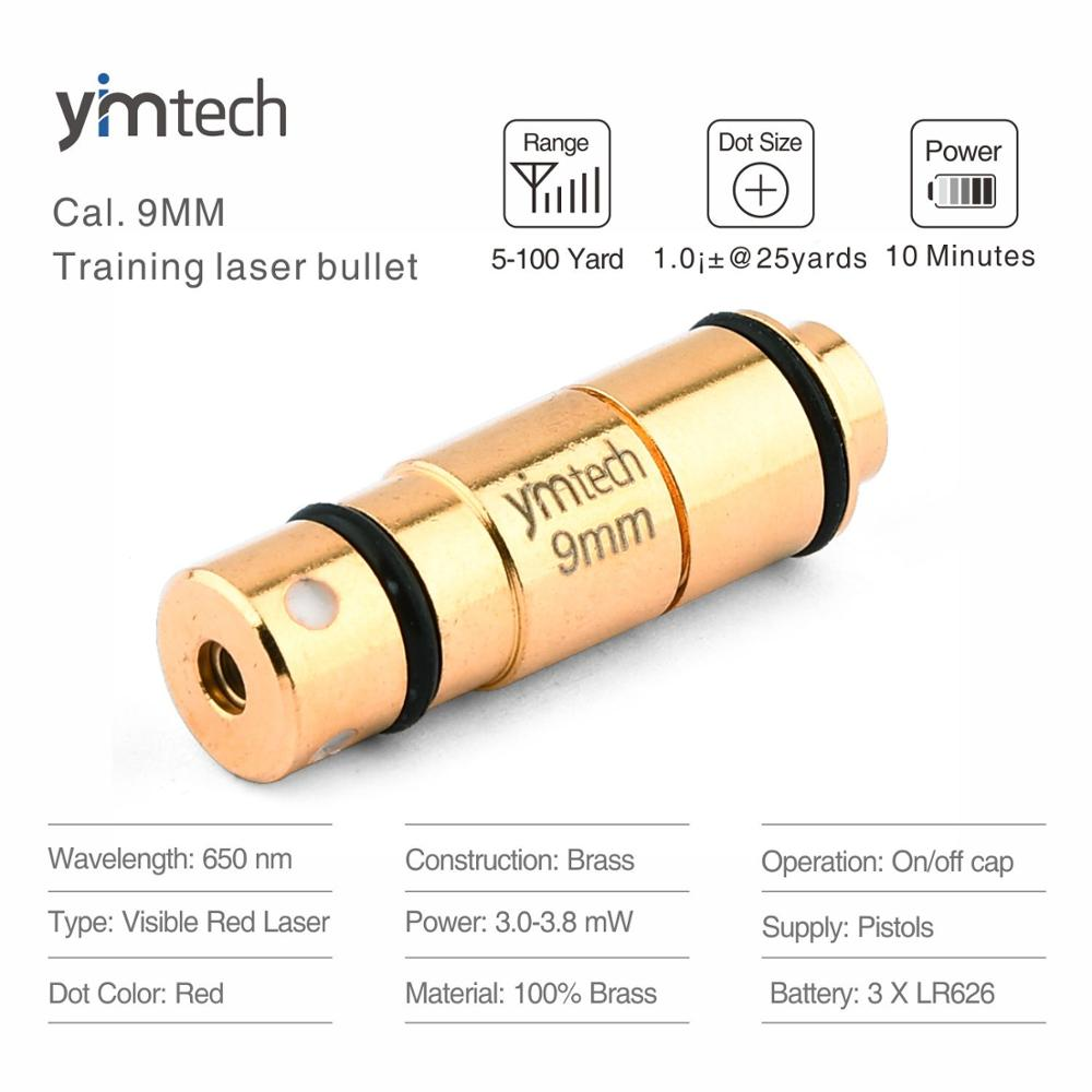 9mm Laser ausbildung kugel, laser kugel taktische red dot, laser trainer patrone für trockene feuer ausbildung und schießen simulation