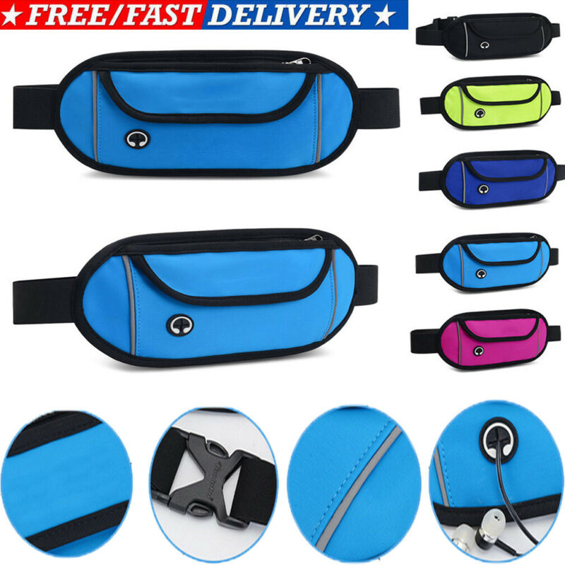 Large Waist Bag Unisex Large Leisure Panelled Fanny Pack For Boys Girls Solid Zipper Bum Bags Casual Chest Waist Pack Belt Bags