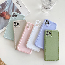 Cute Solid Color Phone Case For iphone 1