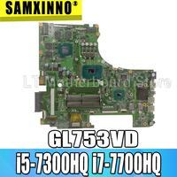교환!!! Gl753vd 마더 보드 asus gl753ve gl753v gl753 노트북 메인 보드 테스트 ok gtx1050/4 gb i5-7300HQ i7-7700HQ