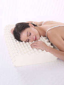 NOYOKE Pillow Cervical-Massage Latex-Release Sleeping-Bed Orthopedic for Living-Room