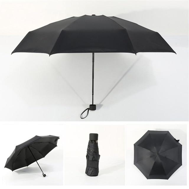 Foldable Umbrella Mini Umbrella Candy Color Traveling Rain Gear Rainy Day Pocket Umbrella Mini Folding Sun Umbrellas Travel Umbr 5
