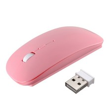 2.4GHz Wireless Mouse 1000DPI Gaming Mouse Office mouse Ultra-thin Optical Mouse USB Receiver For Computer Laptop solarbox x07 blue usb travel optical mouse 1000dpi прозрачный корпус с led подсветкой