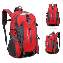 Cycling Backpack Outdoor Camping Daypack Universal Shoulder Bag Comfortable Hiking Rucksack Waterproof Nylon Dropshipping S26