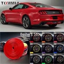 8 м защитное кольцо для обода колеса автомобиля резиновые наклейки