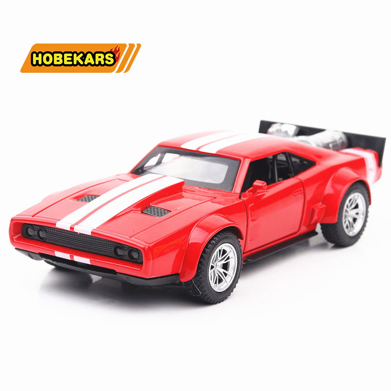 High Simulation Diecast Model Car Dodge War Horse 1/32 Metal Alloy Cars Lights Toys Vehicles For Kids Gifts For Children